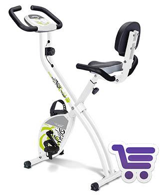Tecnovita Heimtrainer Yf91 Backfit | Bicicleta estática | Runnium.es