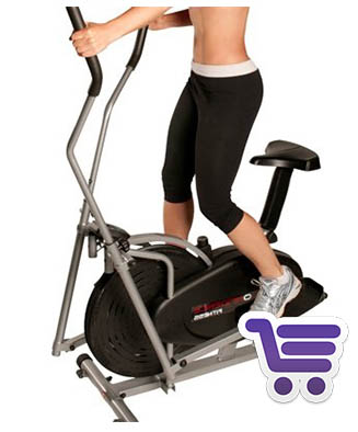 Confidence Elíptica Con Ordenador Fitness | Bicicleta elíptica | Runnium.es