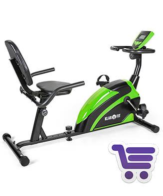 Klarfit Relaxbike 5G | Bicicleta estática reclinable | Runnium.es