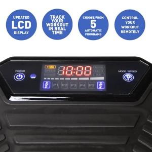 Crazy Vibrations Masaje consola LCD