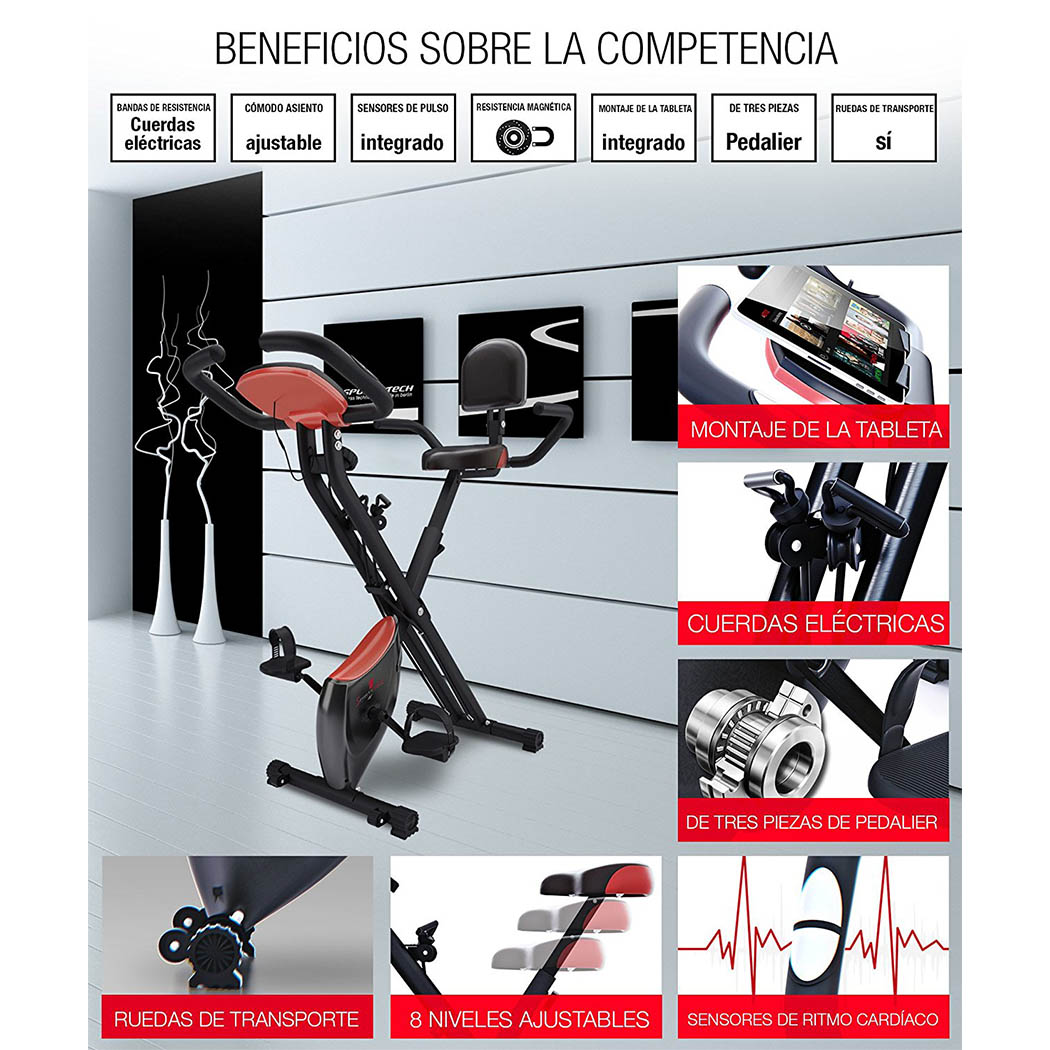 Sportstech F-Bike X100 beneficios
