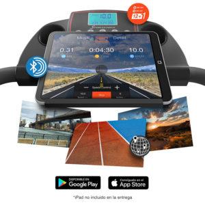 Sportstech F10 consola con apps