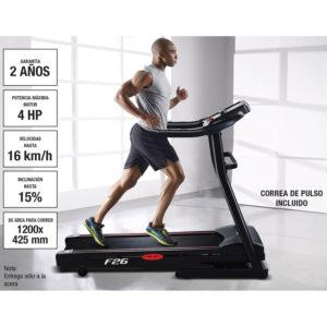 Sportstech F26 consola LCD cinta de correr