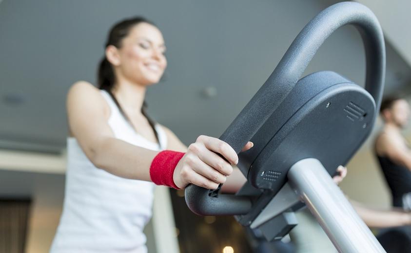 Obtener resultados en una bicicleta estática