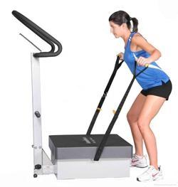Brazos ejercicio plataforma vibratoria