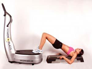 Glúteos ejercicio plataforma