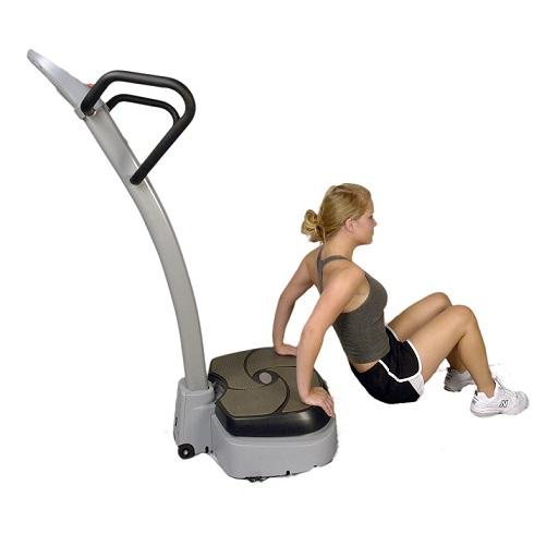 Zona abdominal ejercicio plataforma