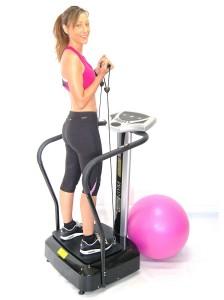 ejercicios brazos plataforma vibratoria