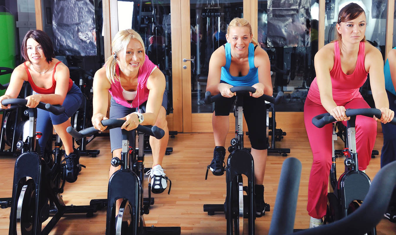 Rutina de ejercicios en spinning para principiantes