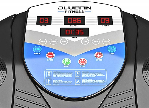 Bluefin Fitness Pro consola lcd