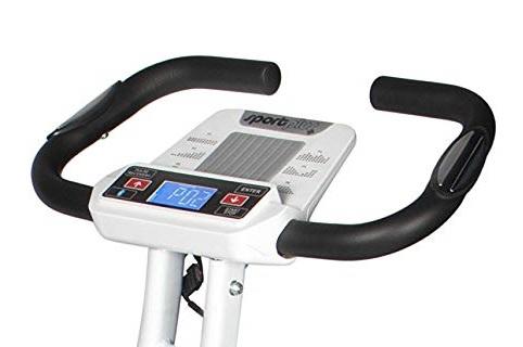 SportPlus Heimtrainer S-Bike consola lcd