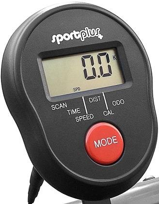 sportplus minibicicleta consola lcd