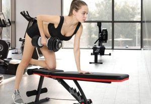 bancos de pesas y musculación